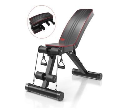 banco de musculacion reclinable